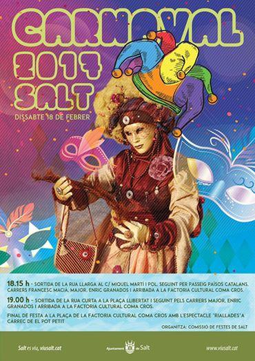 Avui Rua de Carnaval a Salt
