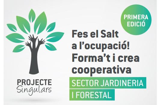 Salt inicia un nou projecte de cooperativisme en Jardineria i Forestal.