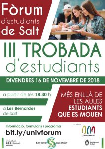 III Trobada de joves estudiants de Salt @ Casa Cultura de Salt