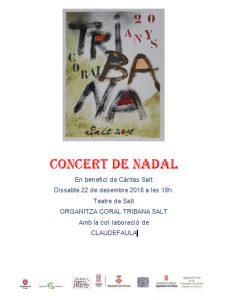 Concert de Nadal de la Coral Tribana