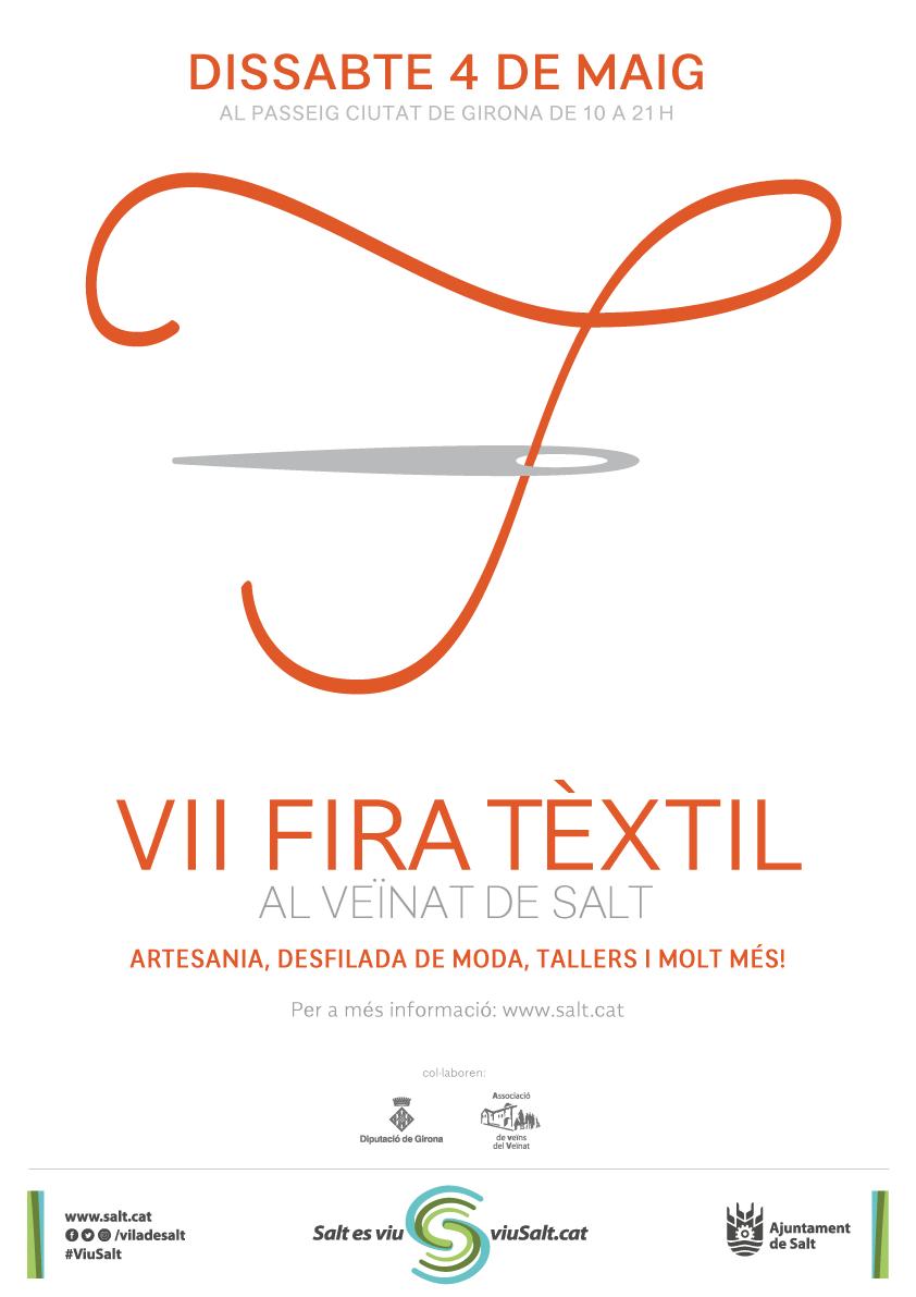 Cartell Fira Textil Salt