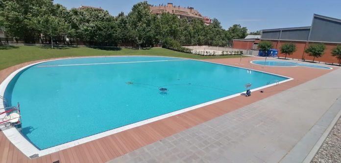 La piscina municipal d'estiu de Salt