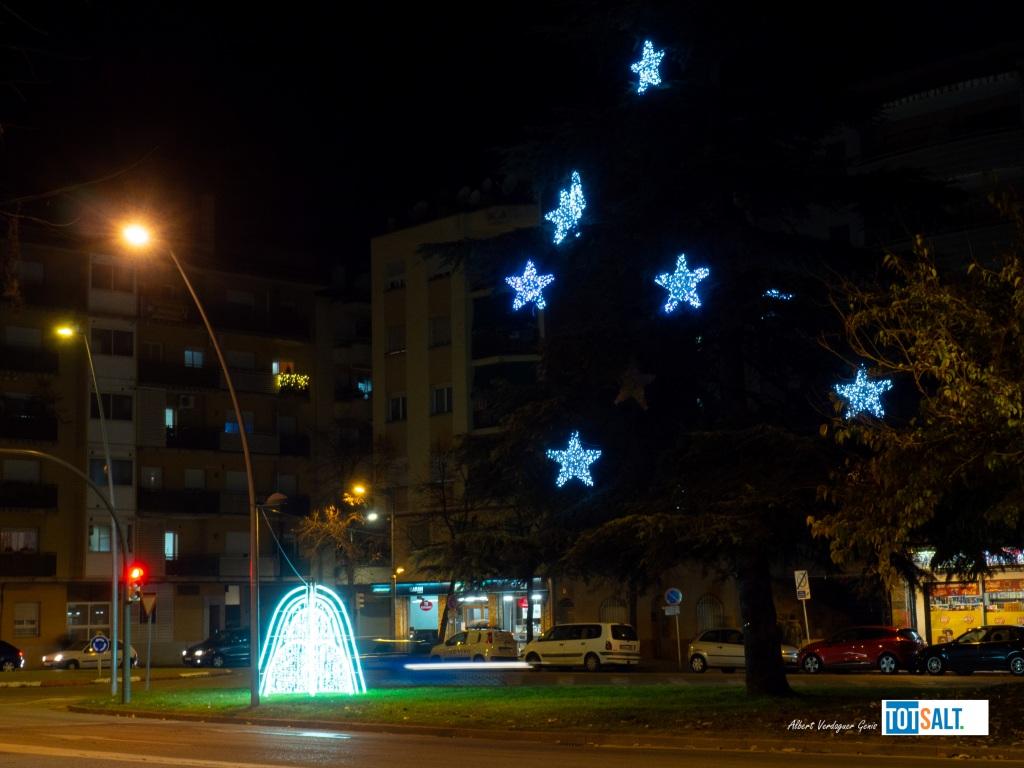 Llums de Nadal Salt